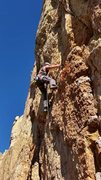 Rock Climbing Photo: Work this short but sweet route.