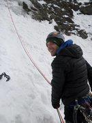 Rock Climbing Photo: Me belaying: Talisman