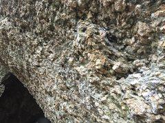 Rock Climbing Photo: the sidepull stand start