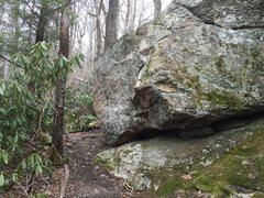 Rock Climbing Photo: the thunder wall