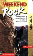 "Rock Climbing Photo: Cover of ""Weekend Rock Arizona"""