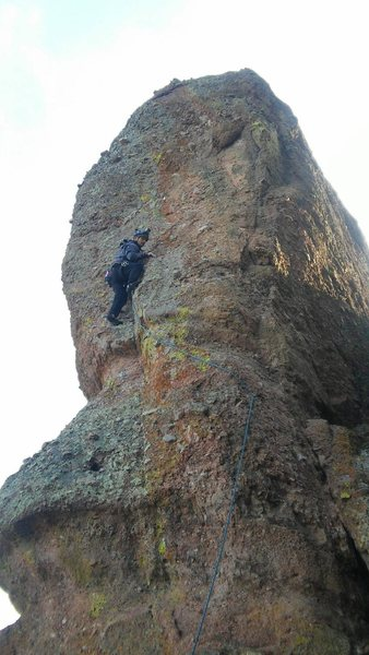 Rock Climbing Photo: Alibaba 5.10b