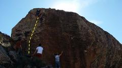 Rock Climbing Photo: Nick on 3rd ascent