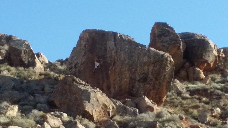 Rock Climbing Photo: Olympus Boulder