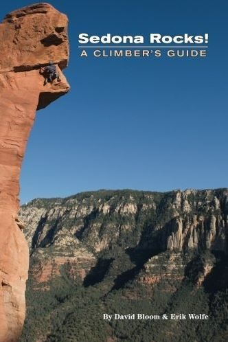 "Cover of ""Sedona Rocks: A Climber's Guide"""