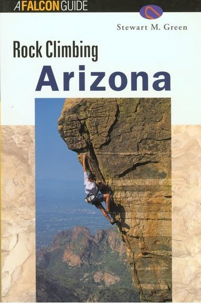 "Cover of ""Rock Climbing Arizona"""