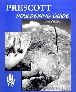 "Cover of ""Prescott Bouldering Guide"""