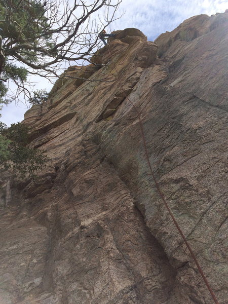 Rock Climbing Photo: The second area at the One Day Wall.  Juli is rapp...