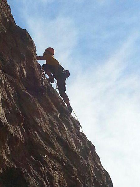 Climbing at Jailhouse on Mt Lemmon