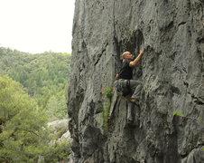 Rock Climbing Photo: before the rain