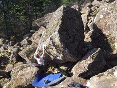 Rock Climbing Photo: Keenan on Enter the Dragon