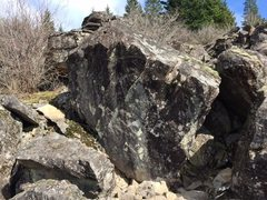 Rock Climbing Photo: an amazing boulder