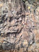 Rock Climbing Photo: matt peddling up hot rod .11a
