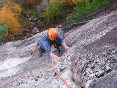 Rock Climbing Photo: Max Fisher on Zen.
