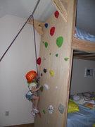 Rock Climbing Photo: Inaugural laps
