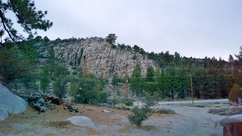 Rock Climbing Photo: Great spot for beginners and kids!