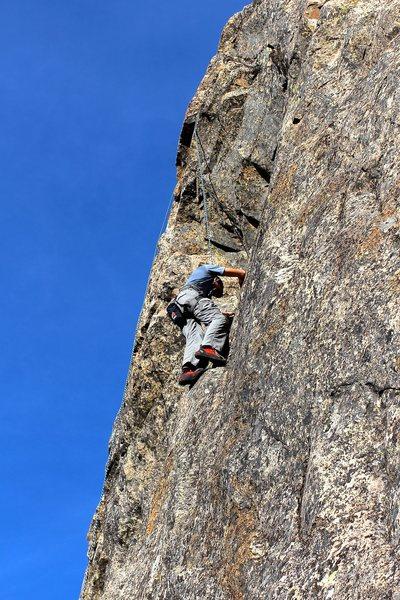 Rock Climbing Photo: TR Kung Fu Panda