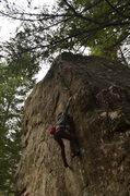 Rock Climbing Photo: stick it!