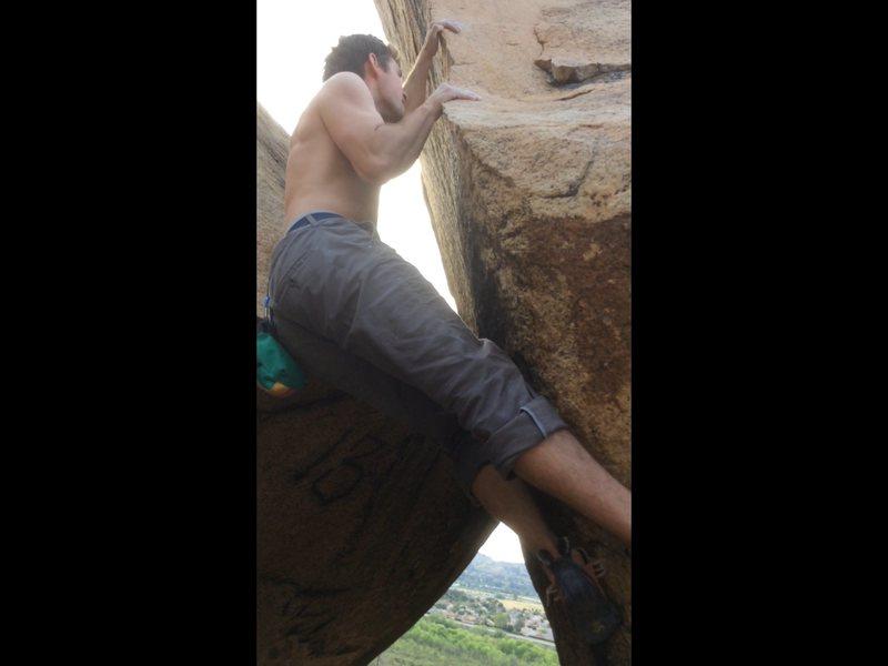 Rock Climbing Photo: Start holds.