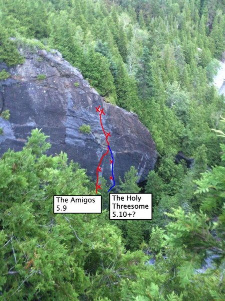 2nd route from the right