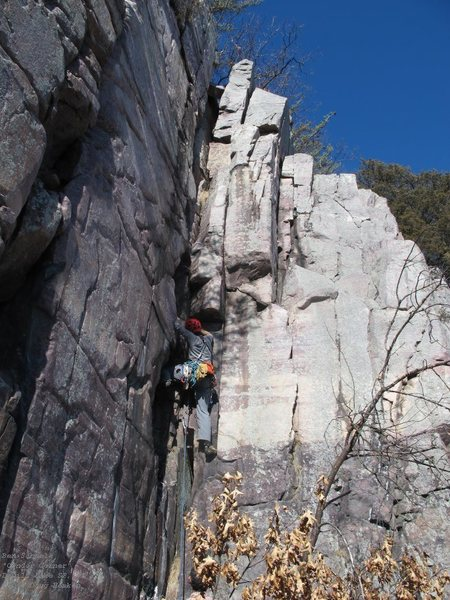 Ben, just below the crux