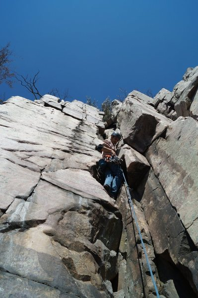 Rock Climbing Photo: Gokul