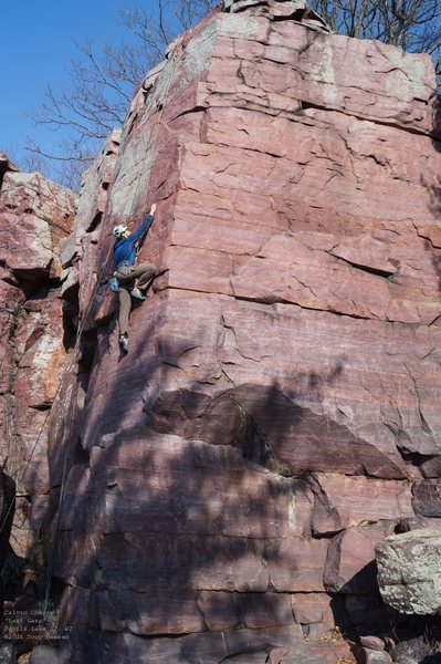 Rock Climbing Photo: Calvin