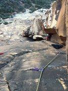Rock Climbing Photo: The Nightcrawler, 2nd pitch.