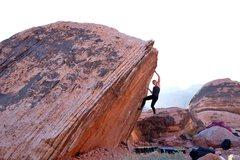 Rock Climbing Photo: Warm up booulder Photo: Jon Lemon