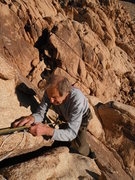 Rock Climbing Photo: Fred Beckey, 90 year old JT crusher.