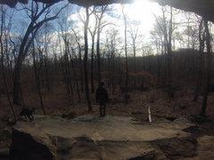 Rock Climbing Photo: Ceder Bluff