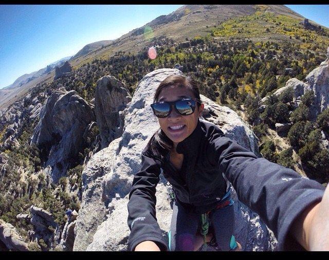 Rock Climbing Photo: Morning Glory Spire