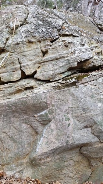 Rock Climbing Photo: Face of 'Singled Out'