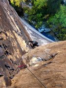 Rock Climbing Photo: Dark Shadows in Red Rock Canyon