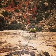 Rock Climbing Photo: Johnny Vegas in Red Rock Canyon