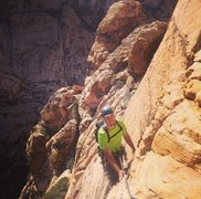 Rock Climbing Photo: Solar Slab at Red Rock Canyon