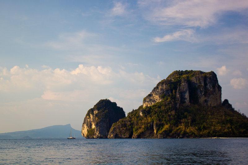 DWS Spot off coast of Railay Bay Thailand