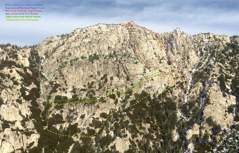 Devils Staircase as seen from summit of Tahquitz!!!