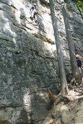 Rock Climbing Photo: Jeffs Bunny Hop, Summerville Lake