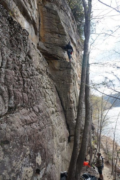 Rock Climbing Photo: Hippy Dreams is a classic