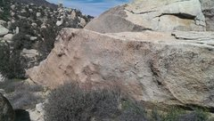 Rock Climbing Photo: Looking northeast at the sword.