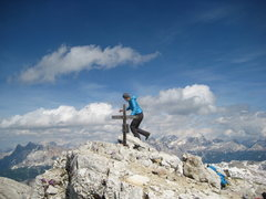 Rock Climbing Photo: Hiking in the Dolomites