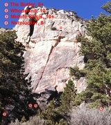 Rock Climbing Photo: Whodunnit Wall