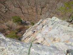 Rock Climbing Photo: coming up P3