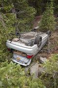 Rock Climbing Photo: Be careful....