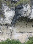 Rock Climbing Photo: Herkules essentially follows the faint sun/shade l...