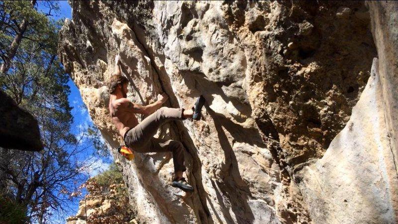 Rock Climbing Photo: Z Flake is a really fun climb. Usually I warm up o...