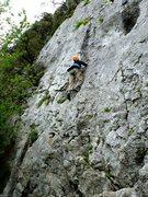 Rock Climbing Photo: Starting up Póntelo