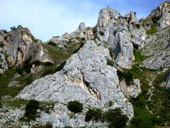 Rock Climbing Photo: El Escalón.