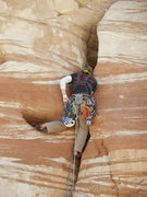 Rock Climbing Photo: Mitch prior to being eaten up!